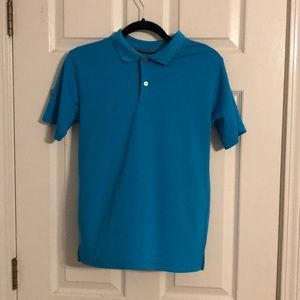 Blue George Dry-fit polo shirt